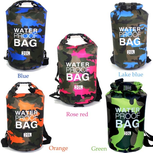 Waterproof Camouflage Dry Bag 2/5/10L 4