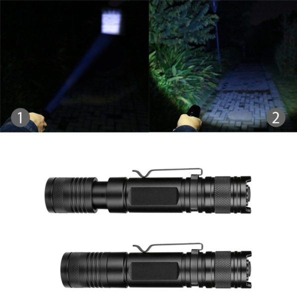 Mini Flashlights USB Rechargeable 2