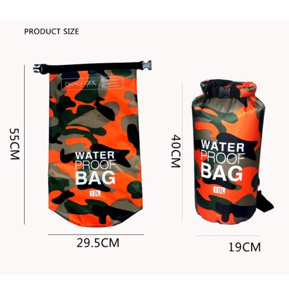 Waterproof Camouflage Dry Bag 2/5/10L 3