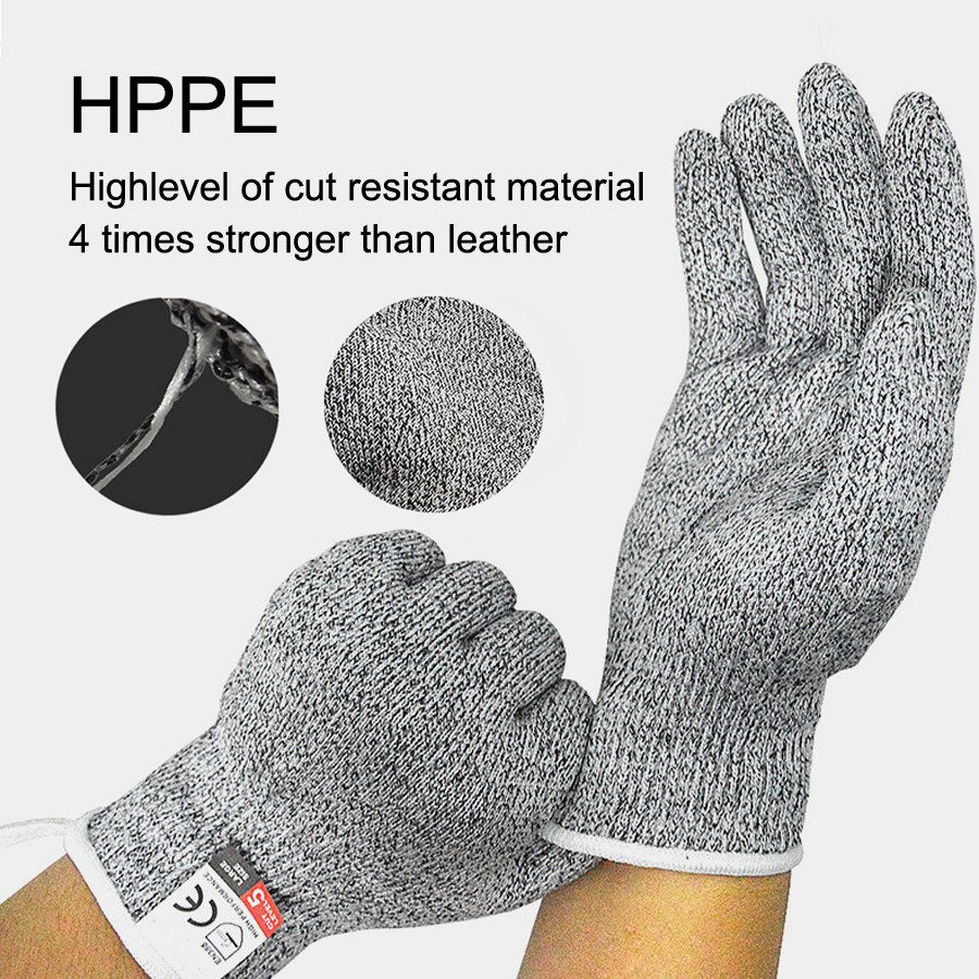 Steal Wire Protective Mesh Gloves 1